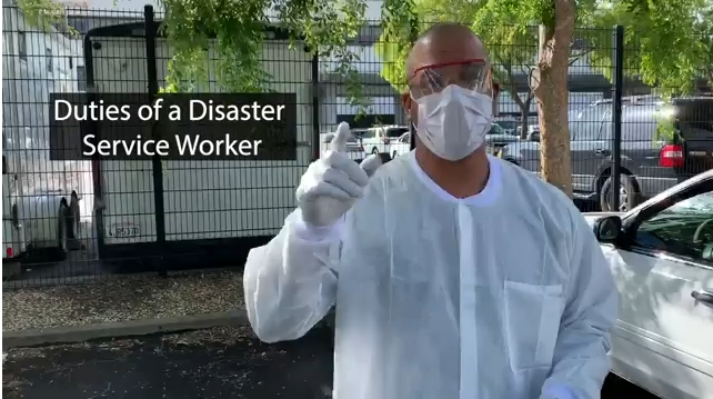 Disaster Service Worker video
