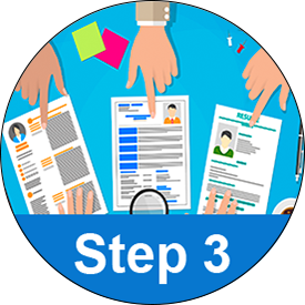 Step 3 - Select and Interview