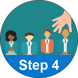 Step 4 - Hire